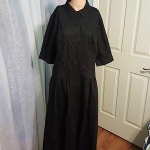 eShakti black dress